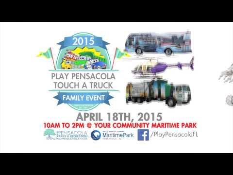 Play Pensacola Touch-A-Truck at Community Maritime Park