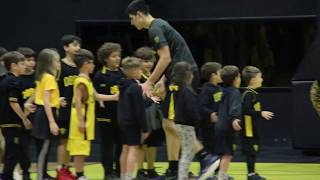 Obras Basket 74-69 Hispano Americano (16/10/2019)