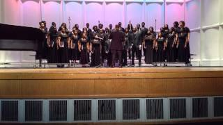Florida A&M University Concert Choir singing Hall Johnson