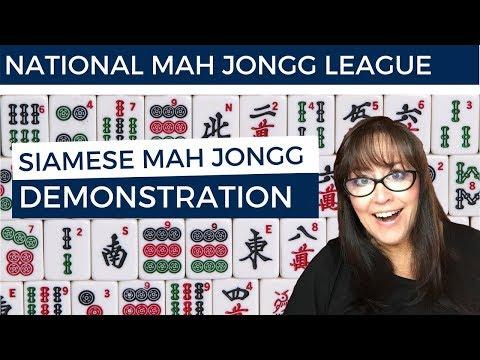 Siamese Mah Jongg Demonstration