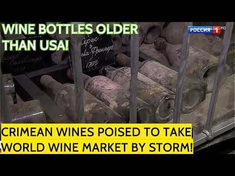 Impressive! Did You Know That Russia Have The Oldest Bottles Of Wine In The World? Guess The Year!