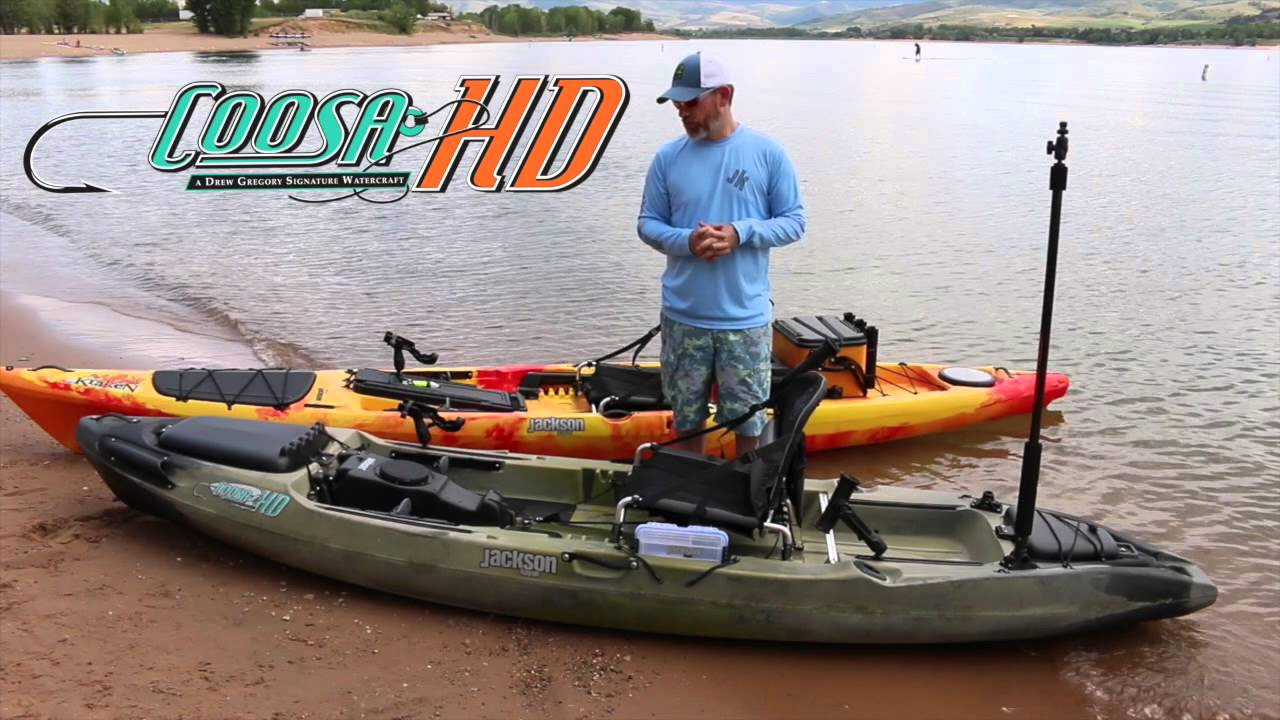 Jackson kayak live at or new fishing 2015 youtube for Fishing jackson kayak