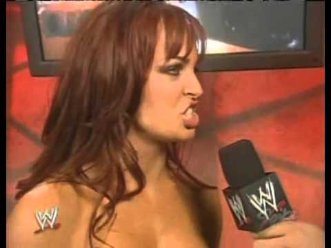 2005 06 20 RAW   Christy Hemme Interview + Victoria Attacks
