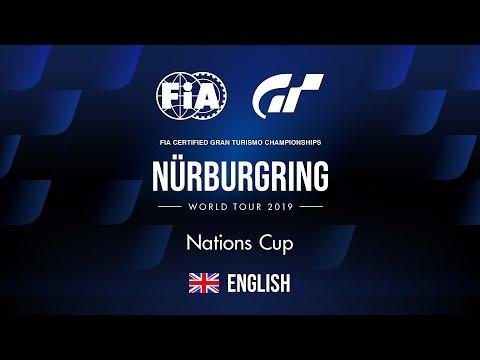 GT Sport | World Tour 2019 - Nürburgring | Nations Cup