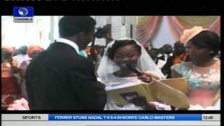 Metrofile: President Goodluck Jonathan's Daughter In Grand White Wedding