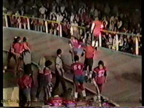 Roller Derby 1985 Mens Play Bombers Pioneers IRSL