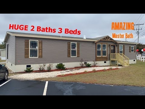 Gorgeous Luxury Double Wide Mobile Home The Aimon 32x70 By Clayton Homes