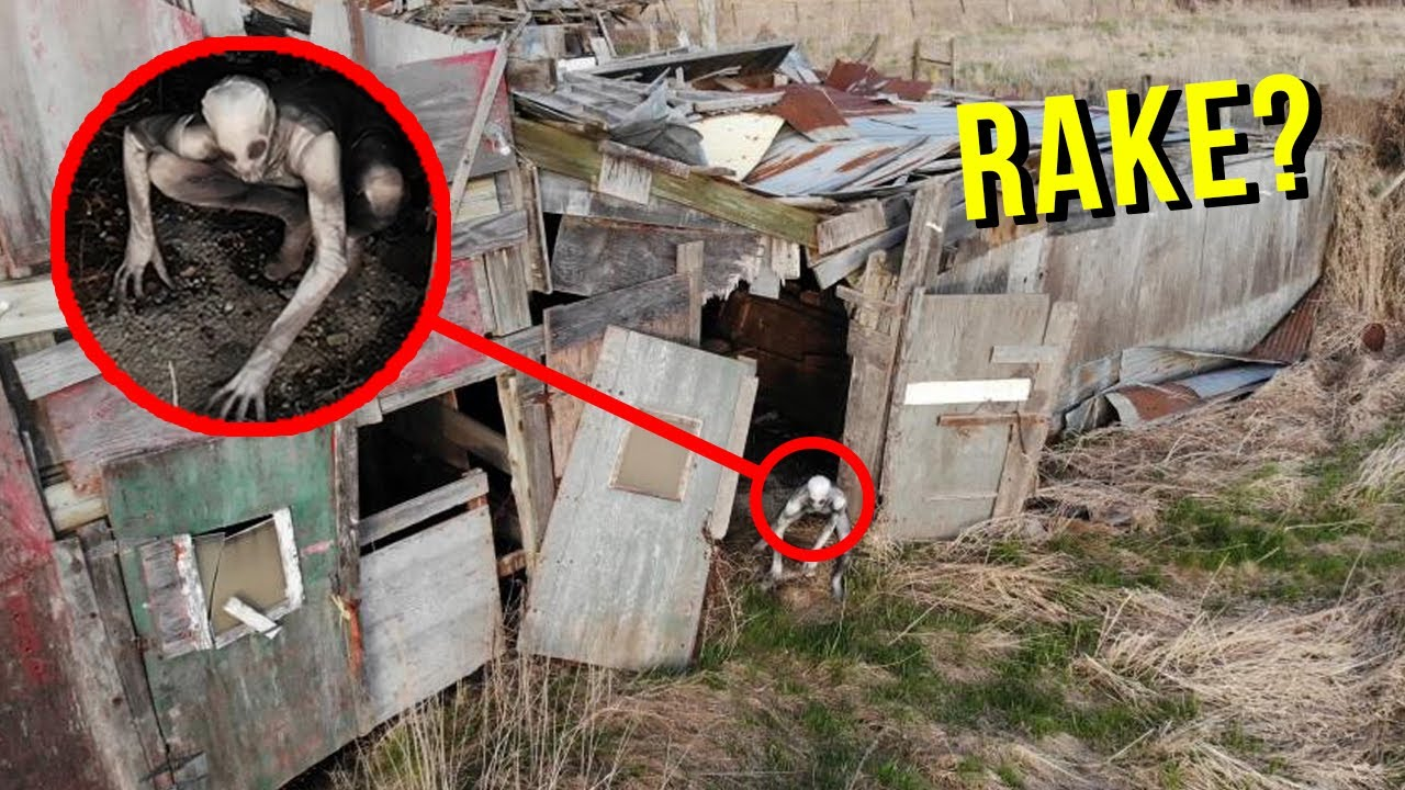Download DRONE CATCHES THE RAKE AT HAUNTED ABANDONED BARN!! (HE'S REAL!)
