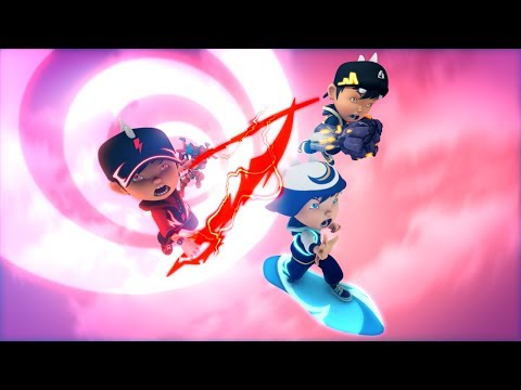 BoBoiBoy: Golem Naga Tanah vs Naga Bayang Ejo Jo HD
