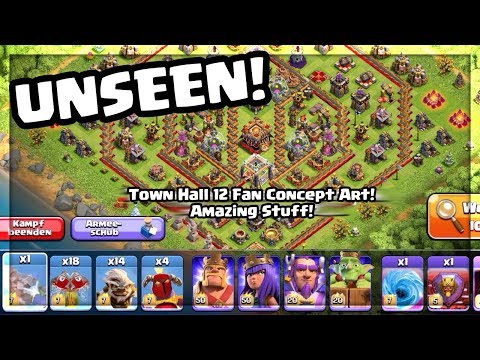TOWN HALL 12: The BEST Clash of Clans Update Concept Art YET