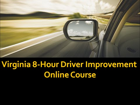 Discover how Virginia Driver Improvement Course Keeps Your Driving Record Clean -safe driving points
