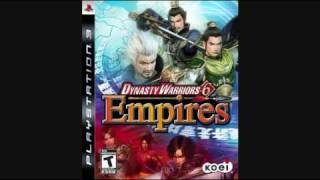 Dynasty Warriors 6 Empires- Intention Selection