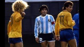 Argentina 1-2 Colômbia (1987) - Dos grandes EQUIPOS en gran JUEGO
