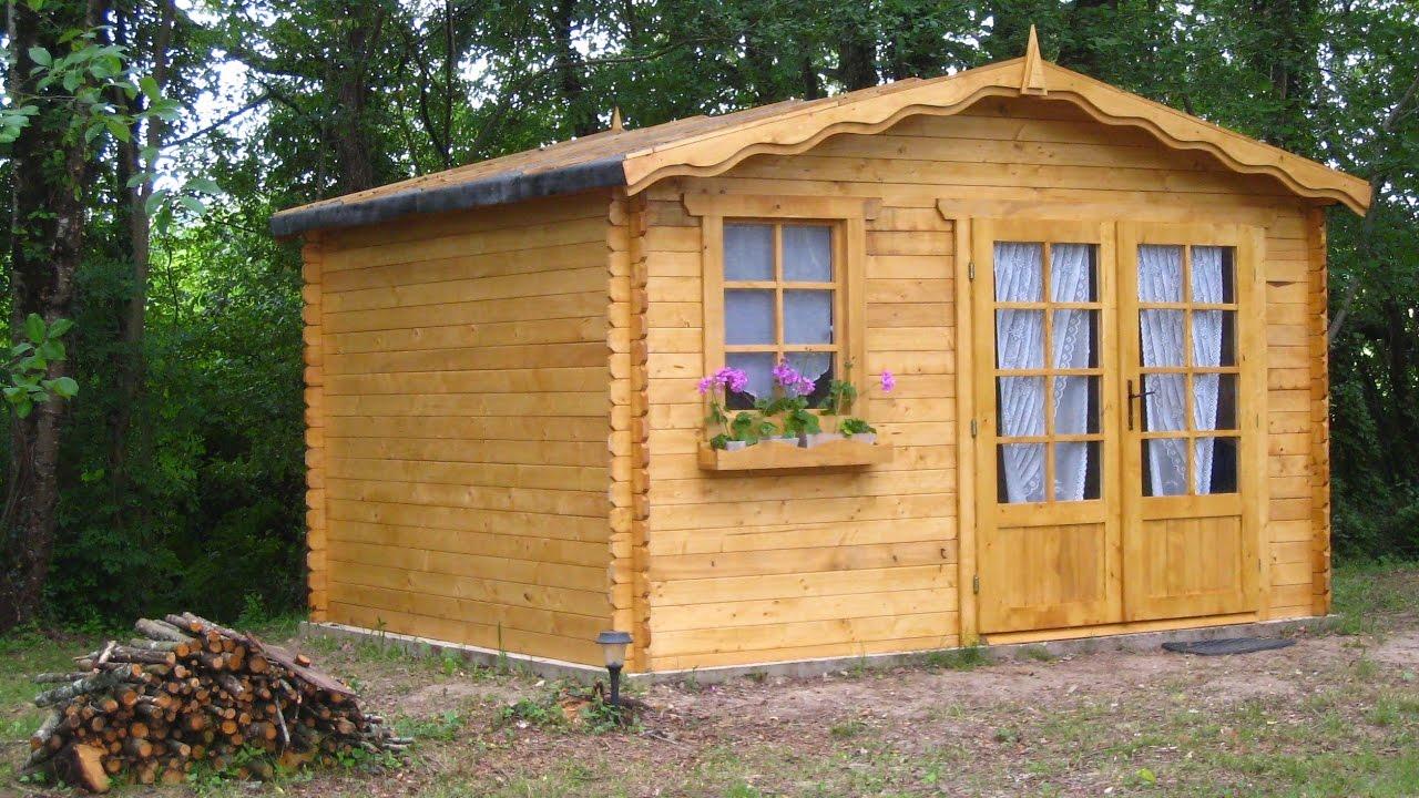 Construction d\'un abri de jardin en bois