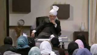 Gulshan-e-Waqfe Nau (Lajna) Class: 5th December 2009 - Part 4 (Urdu)