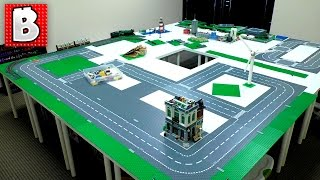 Making A Lego City!!! The Foundation
