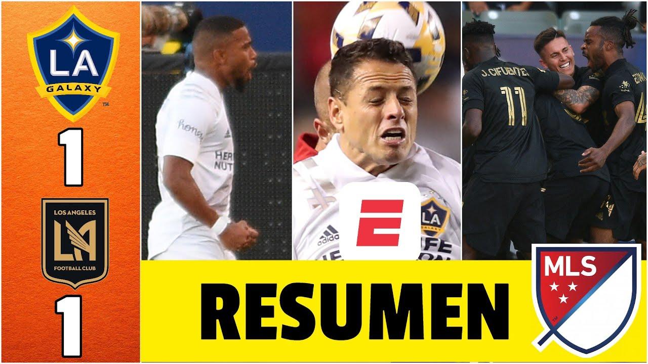 LA Galaxy 1-1 LAFC. ELECTRIZANTE empate, con goles de Grandsir y Fall. CHICHARITO titular
