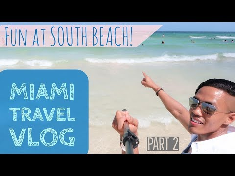 South Beach Miami | Cuban Food | Miami Travel Vlog 2017 | Part 2