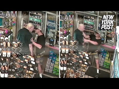 Elderly Clerk Punched, Ultimately Saves His Life