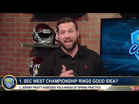 Auburn awards rings for western division title
