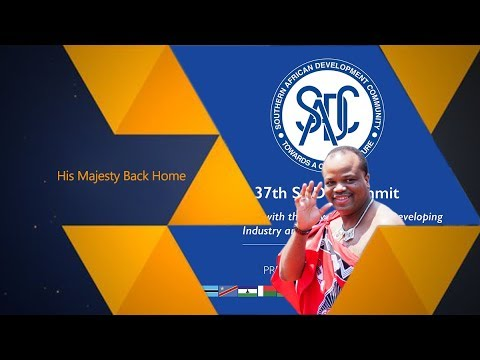 His Majesty King Mswati is back from the Republic of South Africa