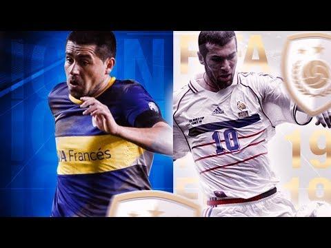 ICONOS FIFA 19 ¿SALDRÁN ESTOS CRACKS? + SORTEO PS4