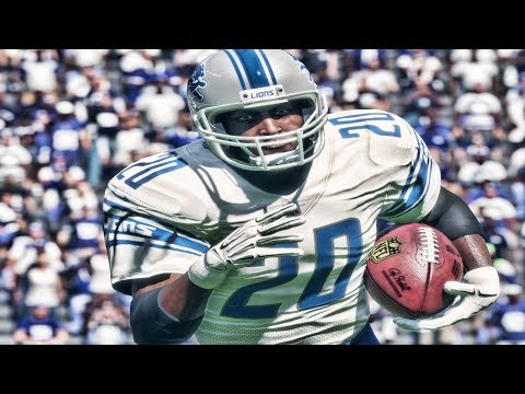 BARRY SANDERS!! INSANE RUN | MADDEN 18 ULTIMATE TEAM GAMEPLAY EPISODE 4