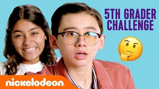 The Ultimate 5th Grader Challenge! 🍎 w/ All That Cast & GEM Sisters!   #KnowYourNick