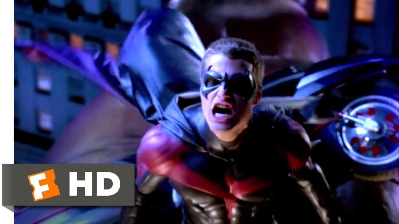 Batman Robin 1997 Catching Cold Scene 5 10 Movieclips Youtube