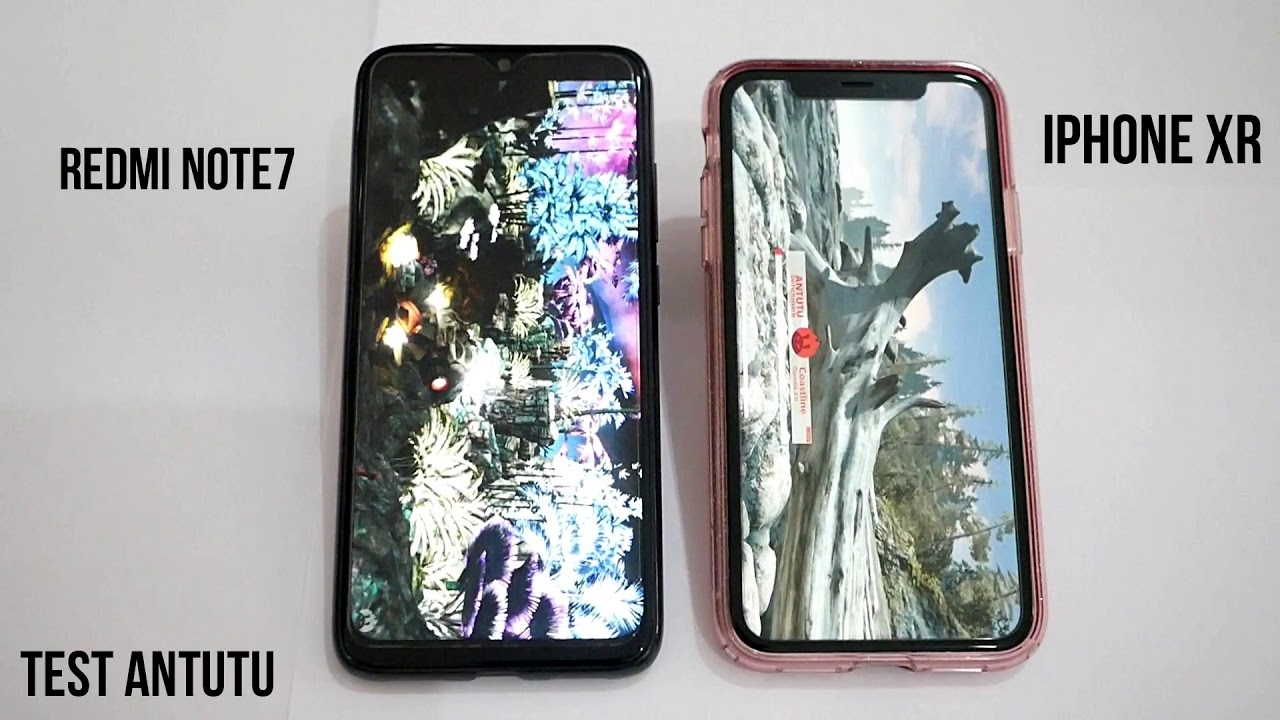 Handphone 2 Juta Vs Handphone 15 Juta Redmi Note 7 Vs Iphone Xr