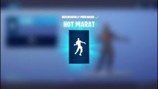 Nouveau Hot Marat Emote (Emote libre) Fortnite Battle Royale