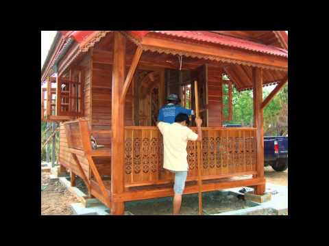 Building House In Thailand Thai Teak Wood And Concrete