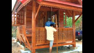 Building House In Thailand ..... Thai Teak Wood And Concrete