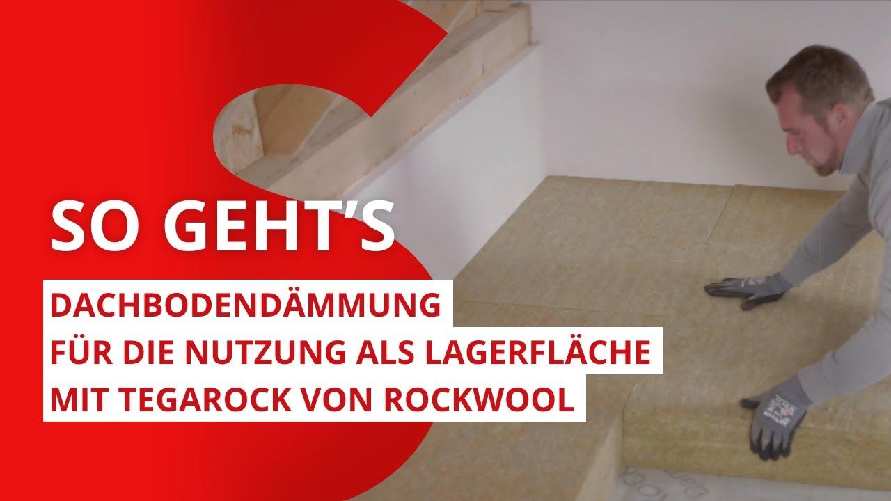 Hervorragend Dachboden dämmen: Dachbodendämmung für die Nutzung als Lagerfläche XK82
