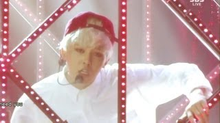 Repeat youtube video G-DRAGON_0922_SBS Inkigayo_니가 뭔데(WHO YOU) + No.1 of the week