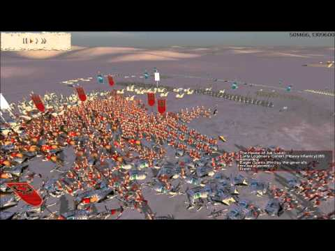 Rome Total War Online Battle #2072: Tigranocerta (Historical)