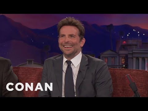 "Bradley Cooper On The Thunderous Premiere Of ""A Star Is Born"" In Venice  - CONAN on TBS"