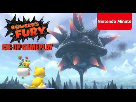 Super Mario 3D World + Bowser's Fury Co-op Gameplay