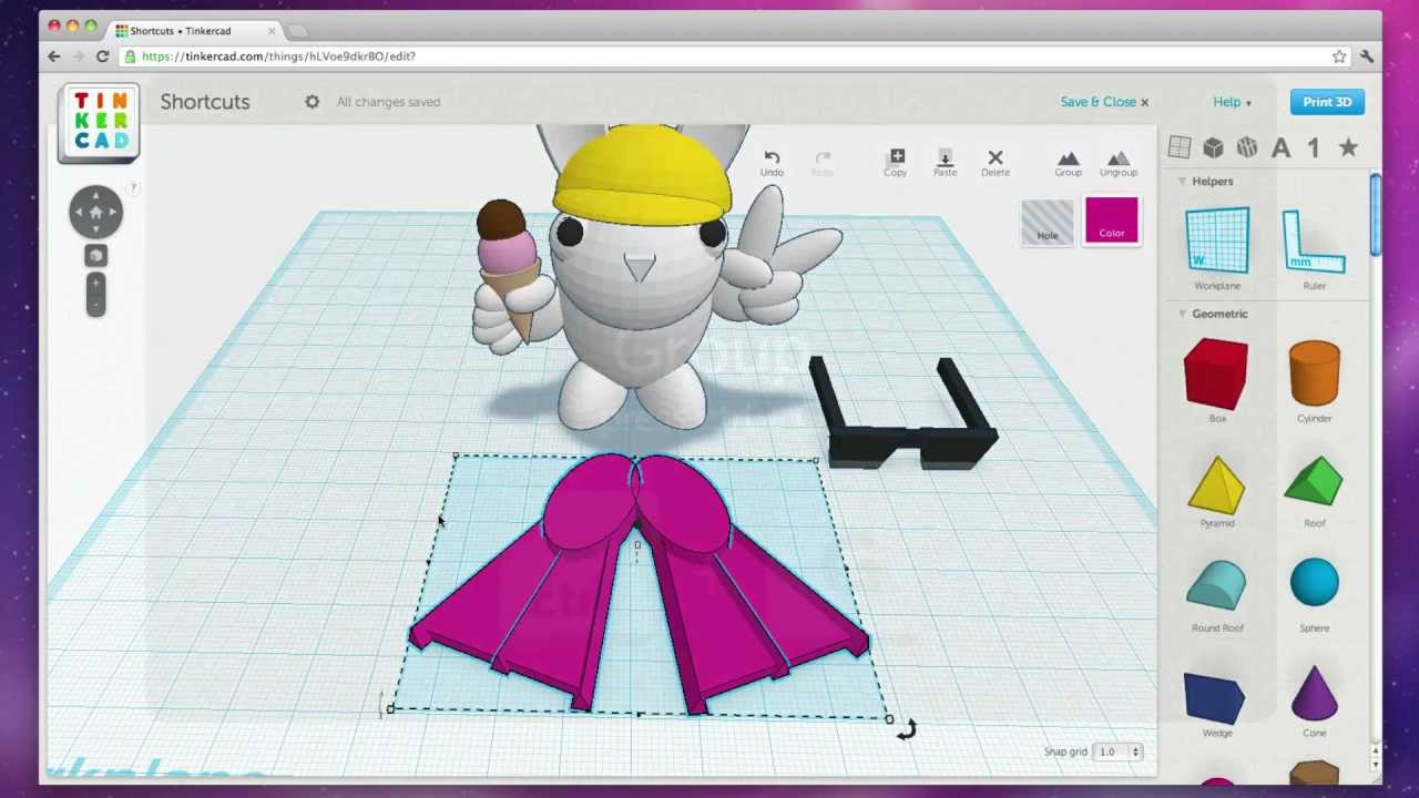 Tinkercad Shortcuts Video Youtube