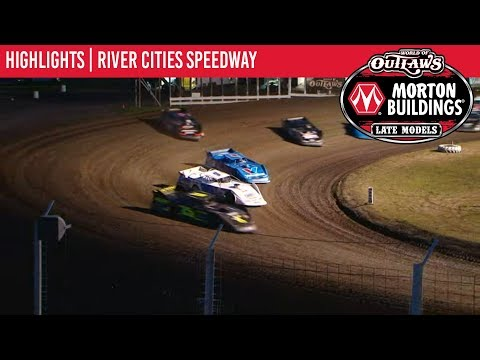World of Outlaws Morton Buildings Late Models River Cities Speedway July 12th, 2019 | HIGHLIGHTS