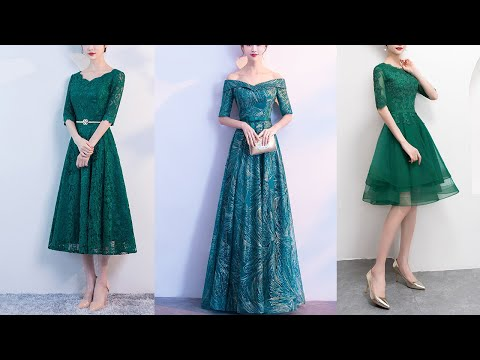 green-evening-dresses|lace-prom-dresses|mother-of-bride-dresses-2018-new