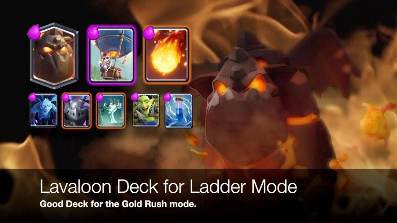 Best Ladder Decks Clash Royale 2020 Clash Royale Best Lavaloon Deck   Ladder Version   YouTube