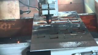 Cnc Plasma Cutter - Tube Cutting Plasma System Operating In 2d