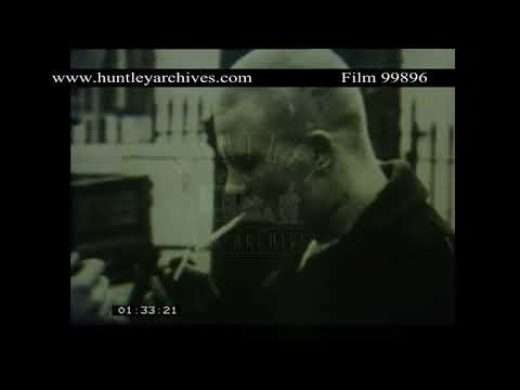Tower Block Estates Crime And Poverty, 1980s - Film 99896