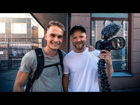 Meeting Matti Haapoja In Finland