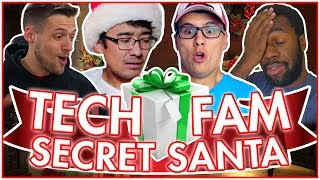 Secret Santa Ft. The Tech Fam (Giveaway Surprise)