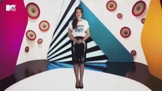 Александра Стриженова ведет программу MTV
