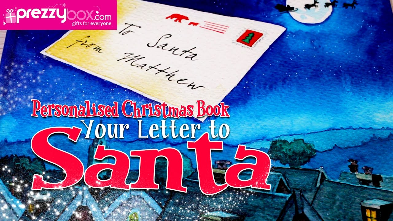 Personalised christmas book your letter to santa a magical personalised christmas book your letter to santa a magical christmas story book spiritdancerdesigns Gallery