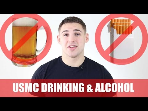 Drinking and Smoking in the Marines: My Advice