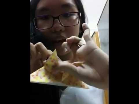 Cách gấp Origami Con Bướm (Đơn giản)
